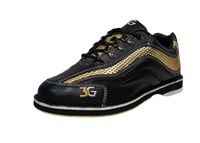 3G Mens Sport Ultra Black/Gold Right Hand Bowling Shoes