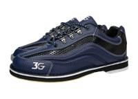 3G Mens Sport Ultra Blue/Black Right Hand Bowling Shoes