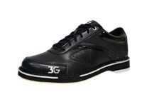 3G Mens Classic Pro Black Right Hand Bowling Shoes