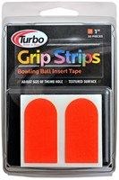 "Turbo Grip Strips 1""  30/Pcs Orange"