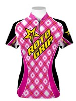 Roto Grip Womens Jersey Pink/Black/Yellow