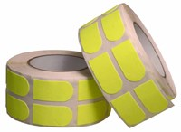 "Turbo Grip Strips 1"" Yellow Tape 500/Roll"
