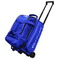 Vise 2 Ball Economy Roller Blue Bowling Bags
