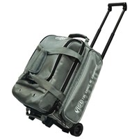 Vise 2 Ball Economy Roller Grey Bowling Bags