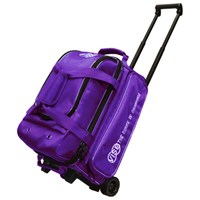 Vise 2 Ball Economy Roller Purple Bowling Bags