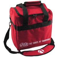 VISE Single Tote Red Bowling Bags