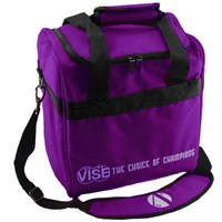 VISE Single Tote Purple Bowling Bags