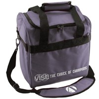 VISE Single Tote Grey Bowling Bags