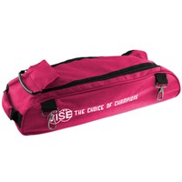 Vise 3 Ball Add-On Shoe Bag-Pink Bowling Bags