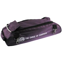 Vise 3 Ball Add-On Shoe Bag-Purple Bowling Bags