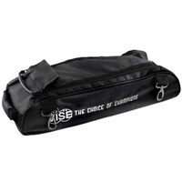 Vise 3 Ball Add-On Shoe Bag-Black Bowling Bags