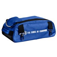 Vise 2 Ball Add-On Shoe Bag-Blue Bowling Bags