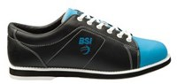 BSI Womens Classic Black/Electric Blue- ALMOST NEW Bowling Shoes