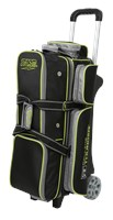 Storm Rolling Thunder 3 Ball Roller Black/Grey/Lime Bowling Bags