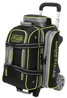 Storm Rolling Thunder 2 Ball Roller Black/Grey/Lime Bowling Bags