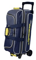 Storm Streamline 3 Ball Roller Navy/Grey/Yellow Bowling Bags