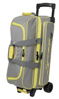 Storm Streamline 3 Ball Roller Grey/Black/Yellow Bowling Bags