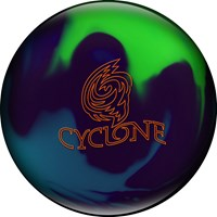 Ebonite Cyclone Purple/Teal/Lime Bowling Balls