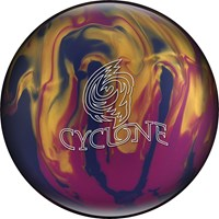 Ebonite Cyclone Violet/Gold/Blue Bowling Balls