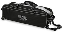 Storm 3 Ball Tournament Travel Roller/Tote Black Bowling Bags