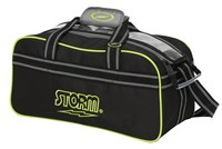 Storm 2 Ball Tote Black/Grey/Lime Bowling Bags