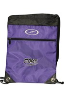 Storm String Backpack Purple Bowling Bags