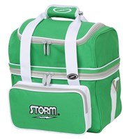 Storm 1 Ball Flip Tote Green/White Bowling Bags