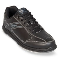 KR Strikeforce Mens Flyer Black Wide Width Bowling Shoes