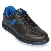 KR Strikeforce Mens Flyer Black/Mag Blue Wide Width Bowling Shoes