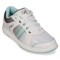 KR Strikeforce Womens Sienna White/Grey/Eggshell Bowling Shoes