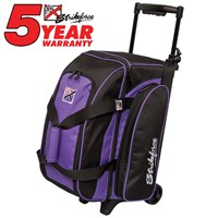 KR Eliminator 2 Ball Roller Purple Bowling Bags