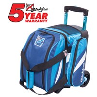 KR Cruiser Single Roller Navy/Aqua Bowling Bags