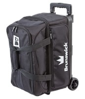 Brunswick Blitz Double Roller Black Bowling Bags