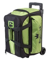 Brunswick Blitz Double Roller Lime Bowling Bags