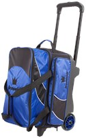 Brunswick Edge Double Roller Blue Bowling Bags