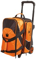 Brunswick Edge Double Roller Orange Bowling Bags