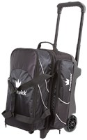 Brunswick Edge Double Roller Black Bowling Bags