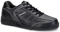 Dexter Mens Ricky III Black/Alloy WIDE WIDTH Bowling Shoes