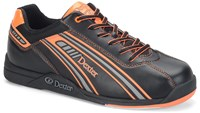 Dexter Mens Keith Black/Orange Bowling Shoes