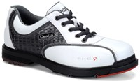Dexter Mens THE 9 White/Crocodile Bowling Shoes