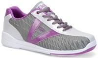 Dexter Womens Vicky Silver/Grey/Purple Bowling Shoes
