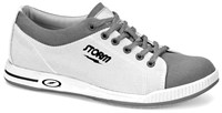 Storm Mens Gust White/Grey Bowling Shoes