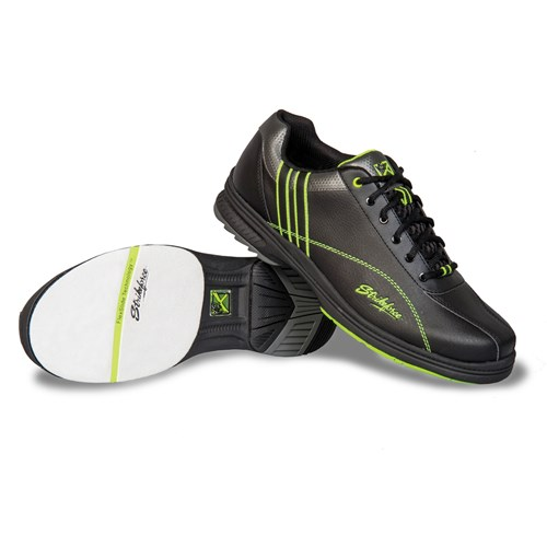 KR Strikeforce Mens Raptor Black/Lime Right Hand Wide Width Core Image