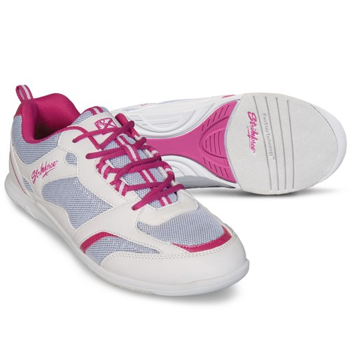 KR Strikeforce Womens Spirit Lite White/Fuchia Core Image