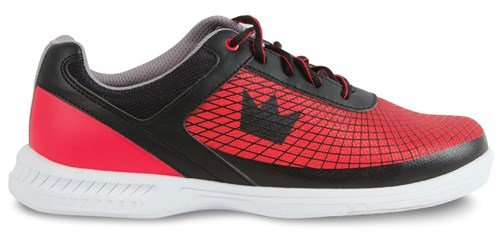 Brunswick Mens Frenzy Black/Red Core Image