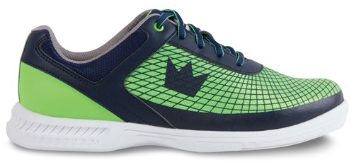 Brunswick Mens Frenzy Navy/Green Core Image