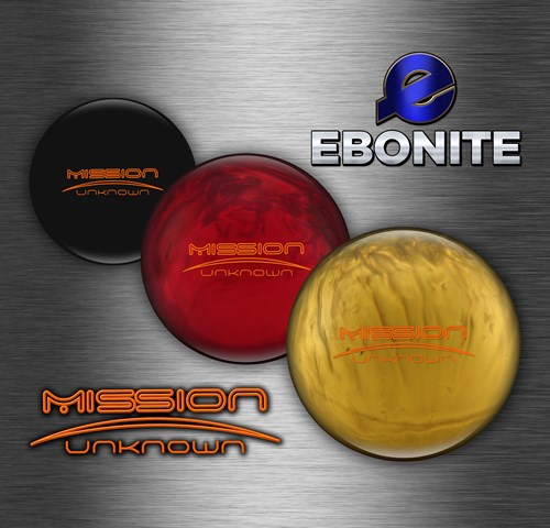 Ebonite Mission Unknown Limited Edition Core Image