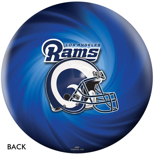 KR Strikeforce Los Angeles Rams NFL Ball Core Image