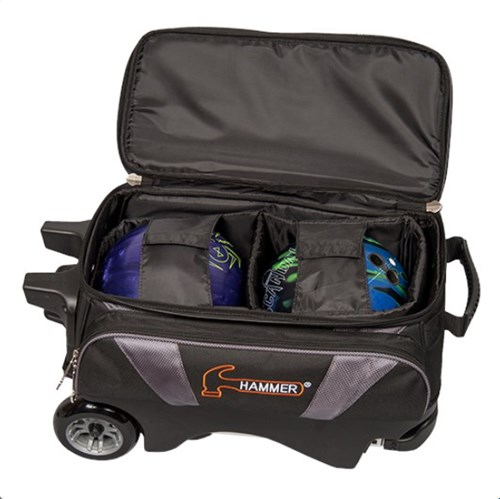Hammer Premium 2 Ball Roller Black/Orange Core Image