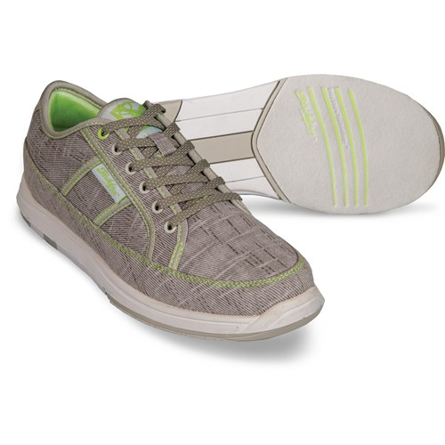 KR Strikeforce Womens Ivy Light Grey/Lime Core Image